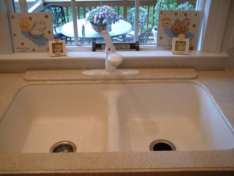Corian Countertop With Undermount Sink